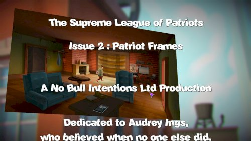 Screenshot of Supreme League of Patriots Issue 2: Patriot Frames